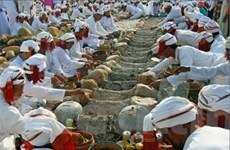 Đồng bào Chăm theo đạo Hồi đón Tết Ramưwan