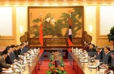Trung Quốc-Lào lập quan hệ đối tác chiến lược