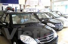 Tiêu thụ ôtô vẫn tăng mạnh dù khủng hoảng