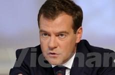 Tổng thống Medvedev có thể tranh cử vào 2012
