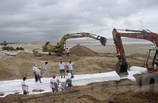 Công nghệ Stabiplage chống xói lở bờ biển