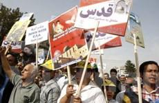 Hơn 100.000 người Iran tuần hành chống Israel