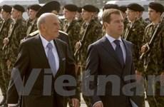 Tổng thống Nga lần đầu thăm chính thức Thụy Sĩ