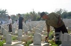 Tri ân liệt sỹ vì sự nghiệp cách mạng Việt -Lào