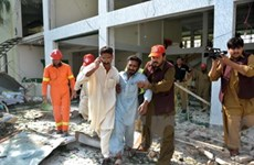 Đánh bom ở Pakistan, hơn 50 người thương vong