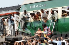 Tai nạn đường sắt, ít nhất 60 người thương vong