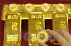 Giá vàng tăng thêm gần 31 USD trong một phiên