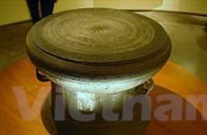 Biểu diễn nghệ thuật đánh trống đồng ở Thanh Hóa