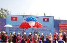 Xây văn phòng Quốc hội Lào do Việt Nam tài trợ