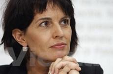 Bộ trưởng kinh tế thành Tổng thống mới của Thụy Sĩ