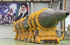 Iran đã thử thành công tên lửa tầm trung Sejil