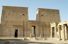 Ai Cập trục vớt được trụ cột của ngôi đền Isis