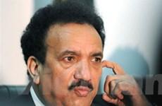 Tòa án Pakistan hoãn phiên xét xử Bộ trưởng Nội vụ