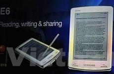 Samsung giới thiệu 2 mẫu sách điện tử E6, E101
