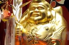 Giá vàng tại thị trường châu Á xấp xỉ 1.080 USD