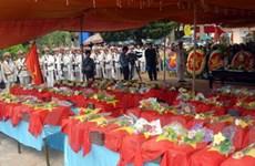 An táng 60 hài cốt liệt sỹ hy sinh ở Campuchia