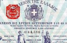 Hy Lạp tiếp tục phát hành trái phiếu thành công