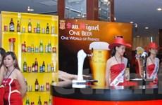 Nhiều nhãn hiệu bia hội tụ ở lễ hội bia lần thứ 2