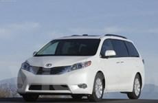 Toyota Sienna, Avalon nhận giải an toàn của IIHS