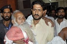 Đánh bom ở Pakistan làm 100 người thương vong