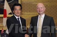 Nhật và Anh nhất trí hợp tác trong nhiều lĩnh vực