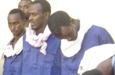 Tòa án Seychelles kết án 11 tên cướp biển Somalia