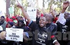 Nam Phi áp dụng biện pháp an ninh chống biểu tình