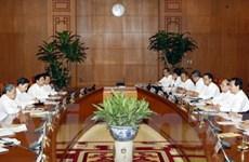 Bộ Chính trị làm việc với Đảng bộ của 3 địa phương