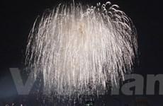 Hà Nội bắn pháo hoa chào mừng ngày Quốc khánh