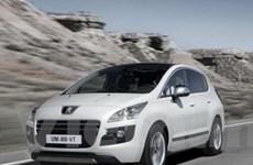 Tung ra xe hybrid máy dầu đầu tiên trên thế giới
