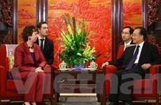 Trung Quốc-EU cam kết tăng quan hệ song phương
