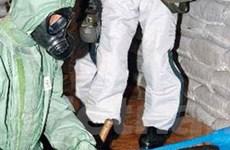Nhật phá hủy vũ khí hóa học sót lại ở Trung Quốc