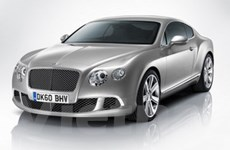 Bentley giới thiệu chiếc coupe Continental GT mới