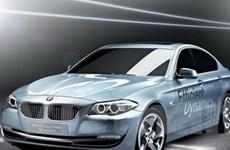 BMW Brilliance bắt đầu sản xuất xe hybrid 5 series