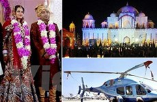 Ấn Độ xôn xao vì đám cưới hàng chục triệu USD
