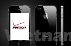 Verizon chiếm 1/3 số người dùng iPhone 4 tại Mỹ