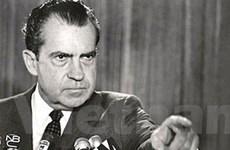 Công bố giải trình của Nixon trong vụ Watergate
