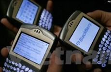 Sập mạng dịch vụ của BlackBerry lan tới Bắc Mỹ