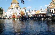 Bangkok đã vượt qua 3/5 ngày cao điểm về lũ lụt