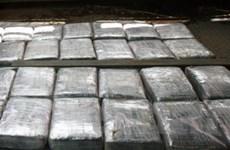 Ấn Độ thu giữ 1 lượng cocaine trị giá 350.000 USD