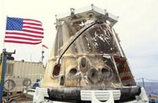 Tàu vũ trụ Dragon hoàn thành chuyến đi đầu tiên
