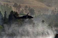 Trực thăng của NATO lại rơi, nhiều binh sỹ tử nạn