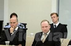 Hôm nay tòa Oslo sẽ tuyên án đối với sát thủ Na Uy