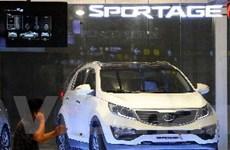 Sản lượng ôtô Hàn Quốc giảm mạnh trong tháng 8