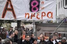 Biểu tình phản đối chính sách khắc khổ ở Hy Lạp
