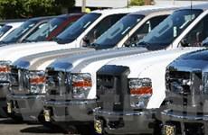 Doanh số tiêu thụ ôtô tại thị trường Mỹ tăng mạnh