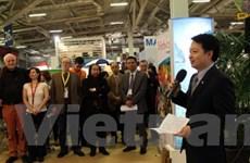 Quảng bá du lịch Việt Nam tại Hội chợ ITB ở Đức