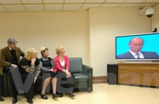 """Ông Putin tích cực chuẩn bị cho """"giao lưu trực tuyến"""""""