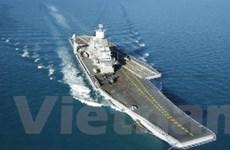 Ấn Độ hạ thủy tàu sân bay tự chế tạo INS Vikrant