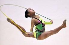 """Nhật Linh """"vô đối"""" tại giải thể dục nghệ thuật"""